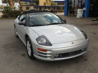 2001 Mitsubishi Eclipse Spyder Gt Convertible photo