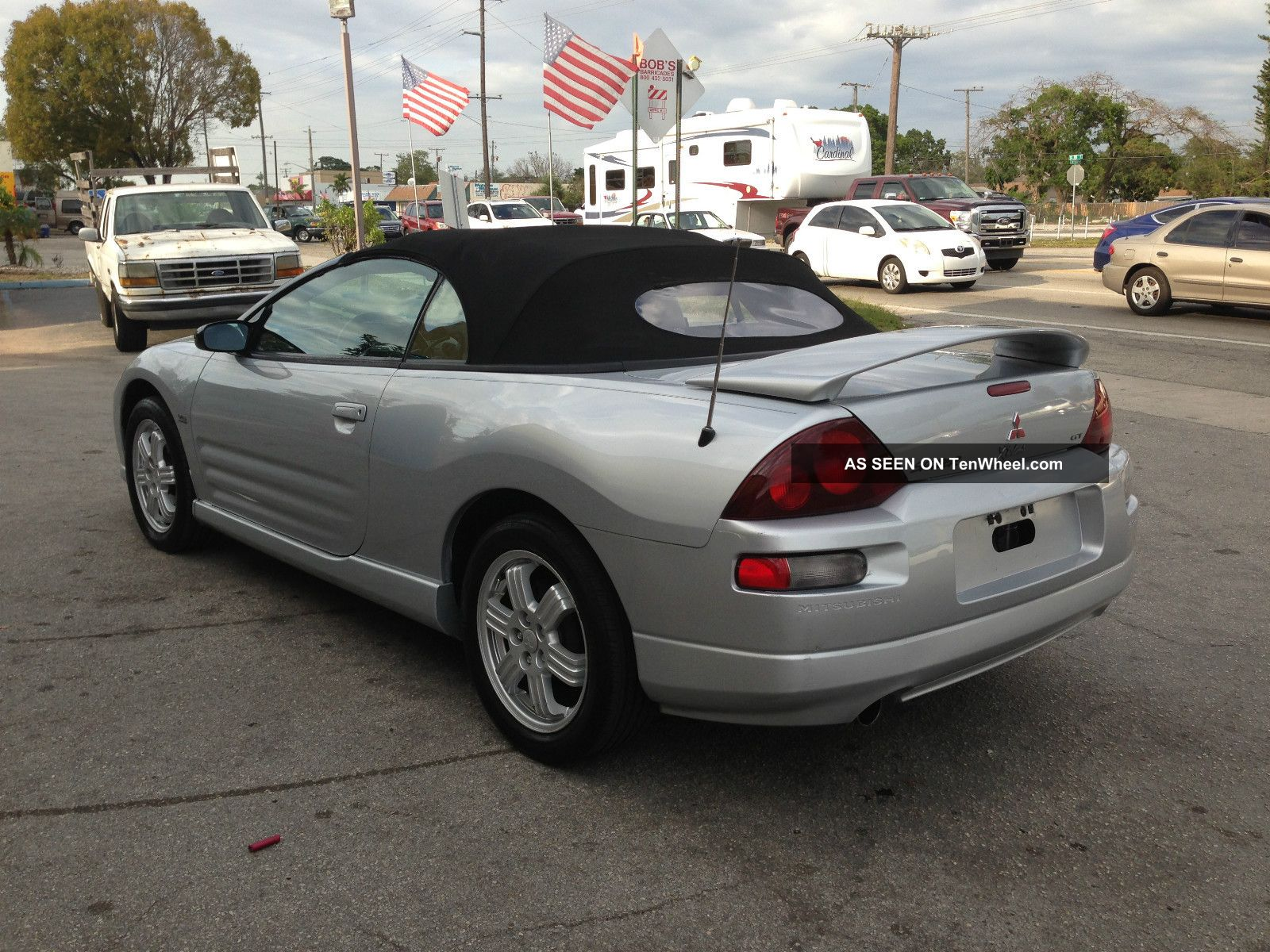 2001 Mitsubishi Eclipse Spyder Gt Convertible Eclipse Photo 3