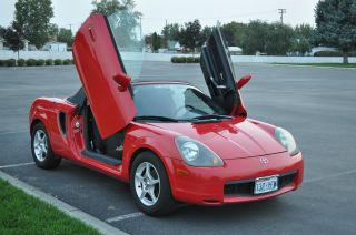 2002 Toyota Mr2 Spyder Convertible 2 - Door 1.  8l - photo