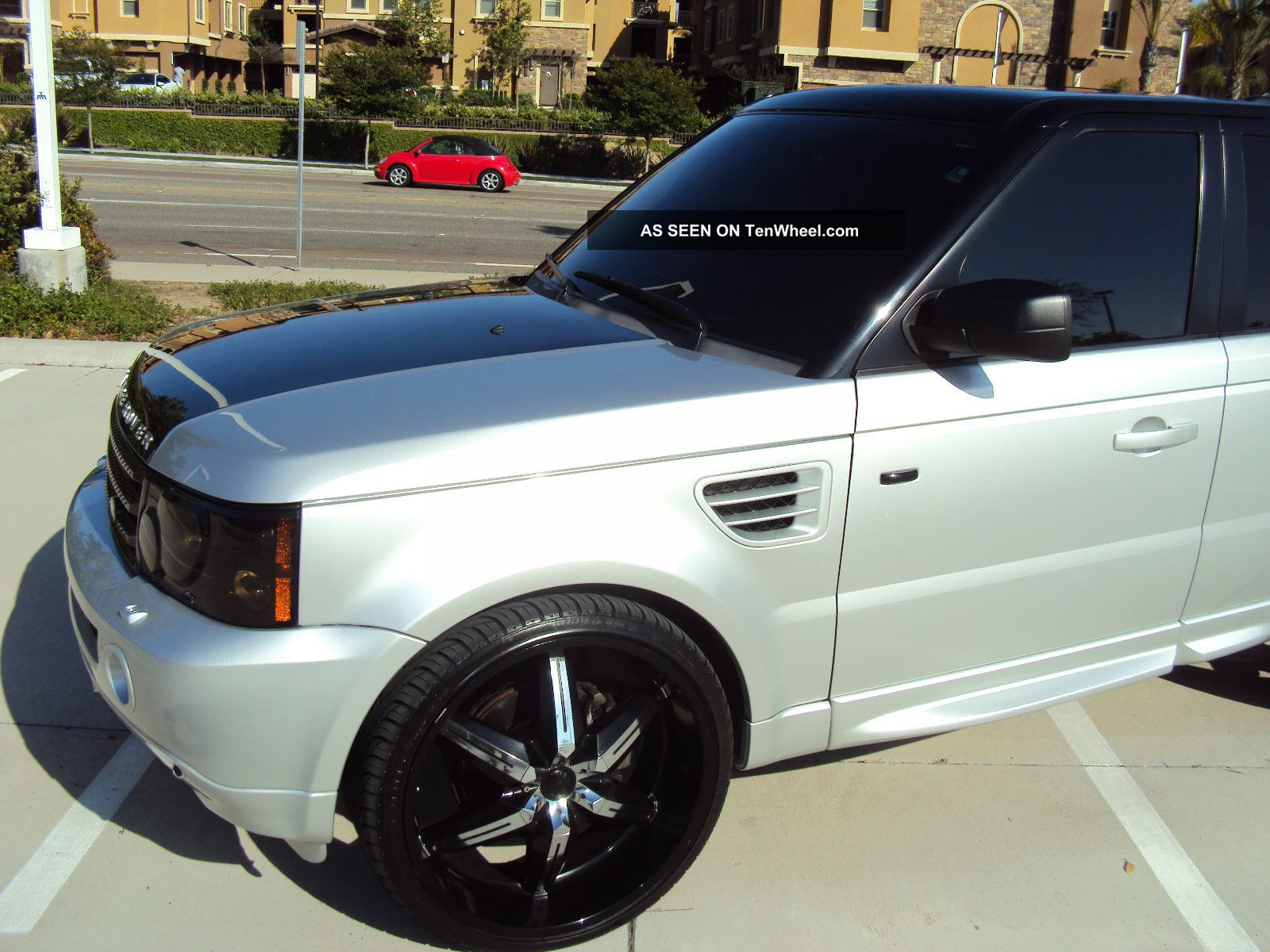 2006 land rover range rover sport hse sport utility 4. Black Bedroom Furniture Sets. Home Design Ideas