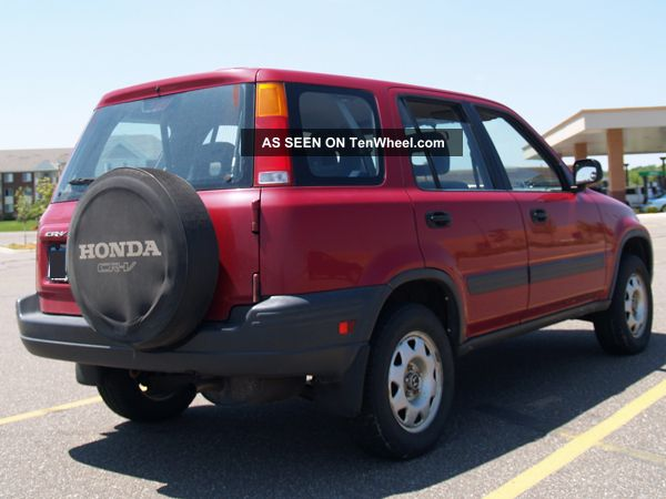 1999 honda crv owners manual