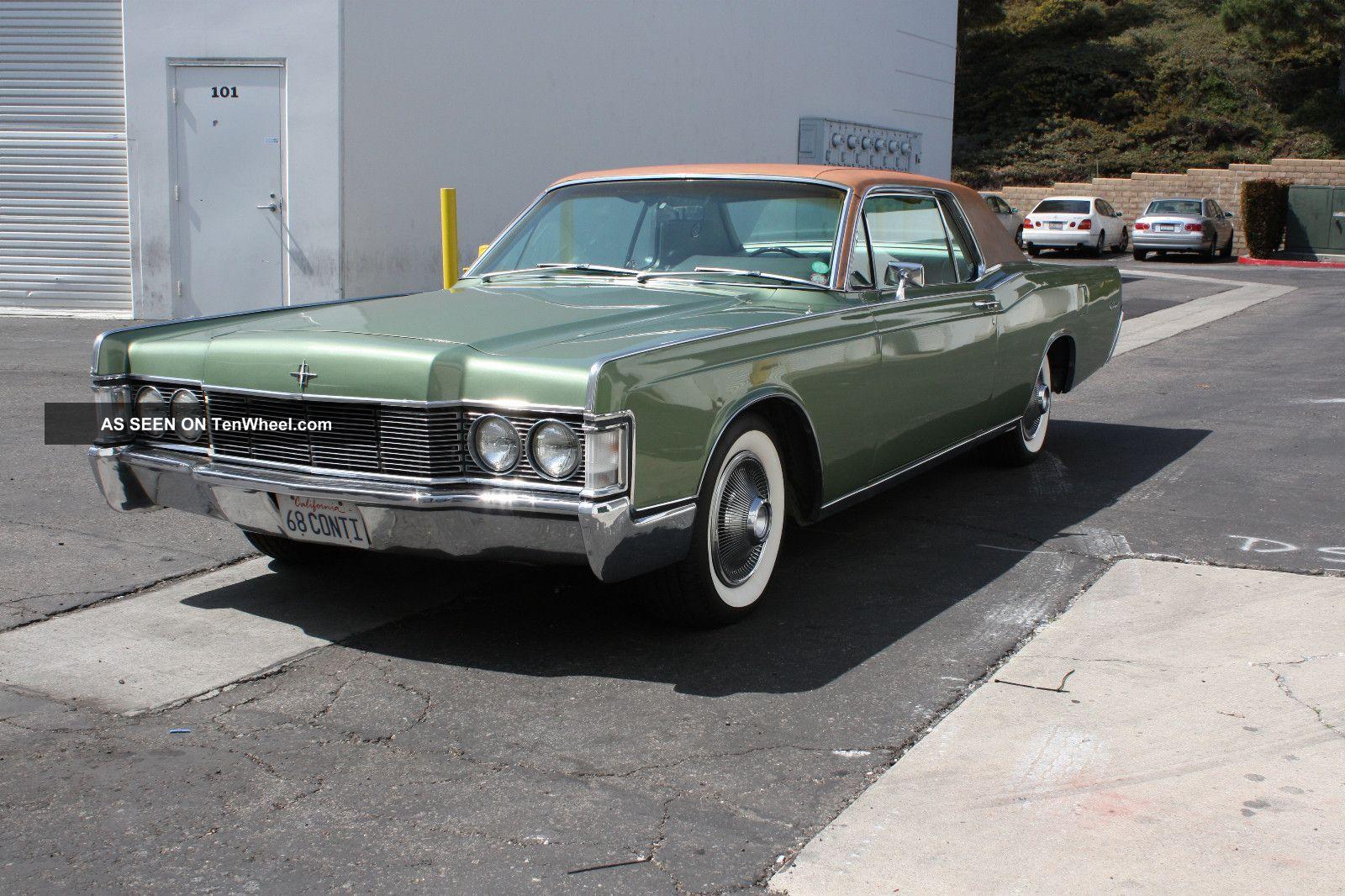1968 Lincoln Continental Base 7 5l