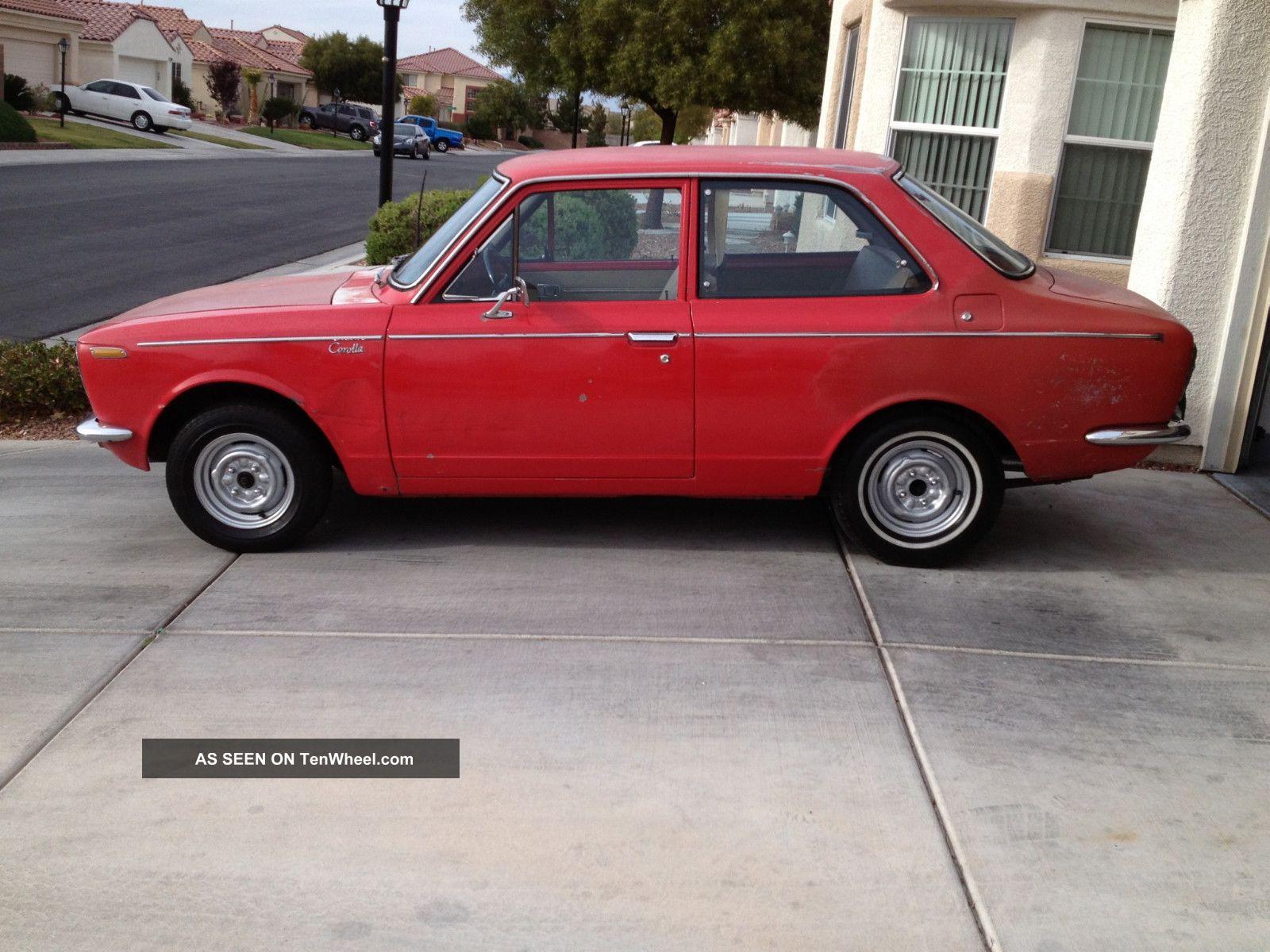 1969 Toyota Corolla 2 Door 4 Speed Ke10