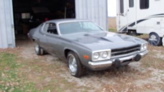 1974 Plymouth Roadrunner The Real Deal Matching Needs A Little Tlc photo