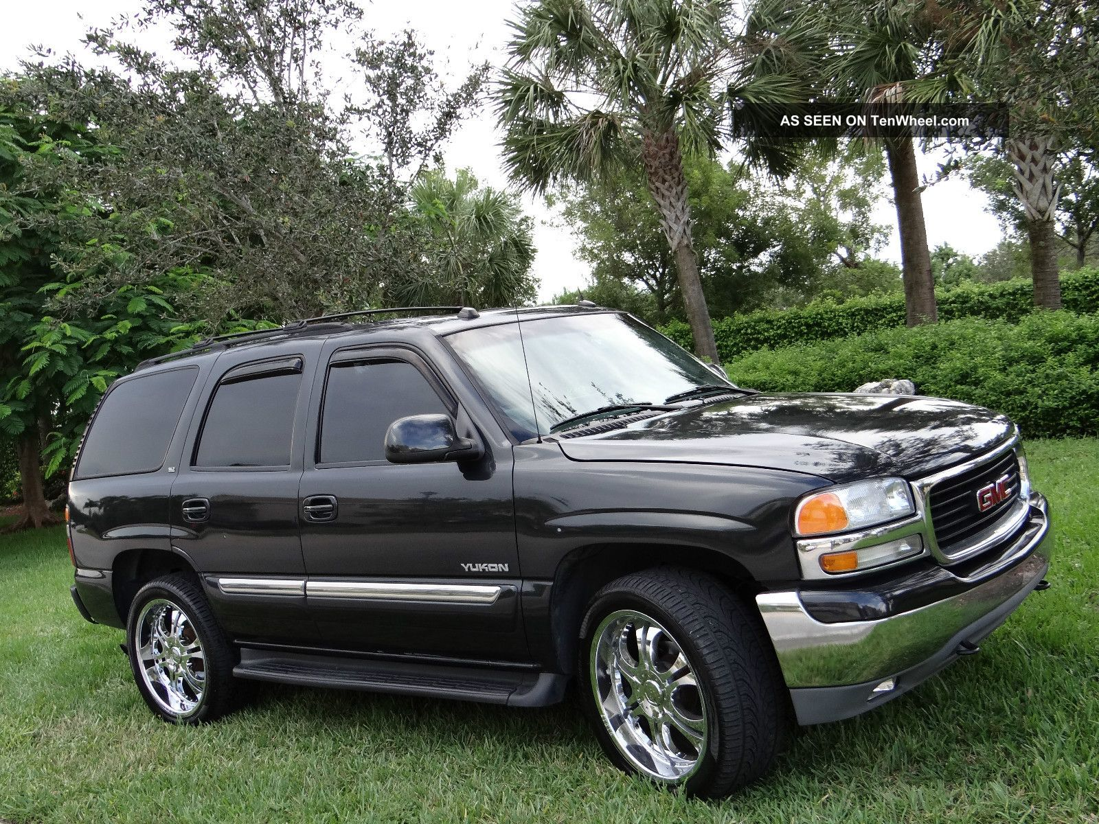 2005 gmc yukon slt sport utility 4 door 5 3l. Black Bedroom Furniture Sets. Home Design Ideas