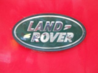 1997 Range Rover Hse 4.  6 - Red photo