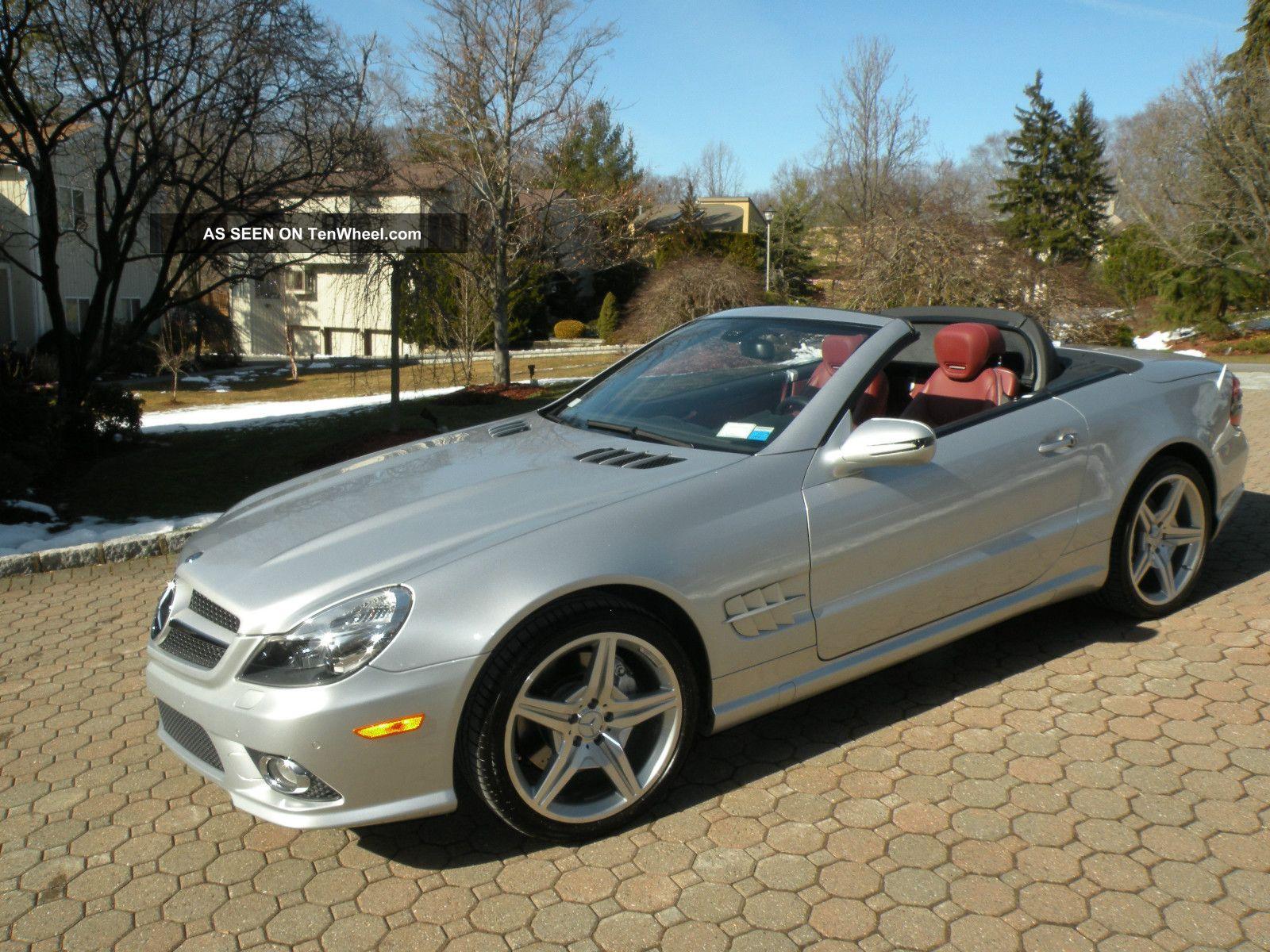 2009 Mercedes - Benz Sl550 Convertible 5. 5l Silver Arrow ...