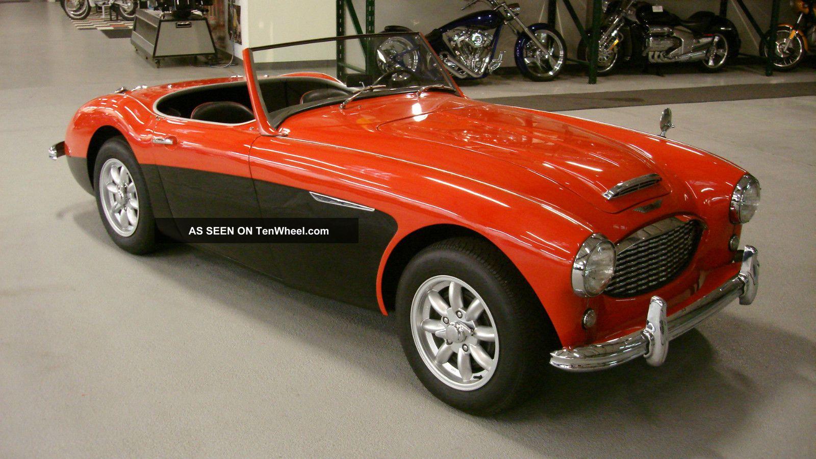 1958 Austin Healey 100 6 Bn6 2 Seat Roadster