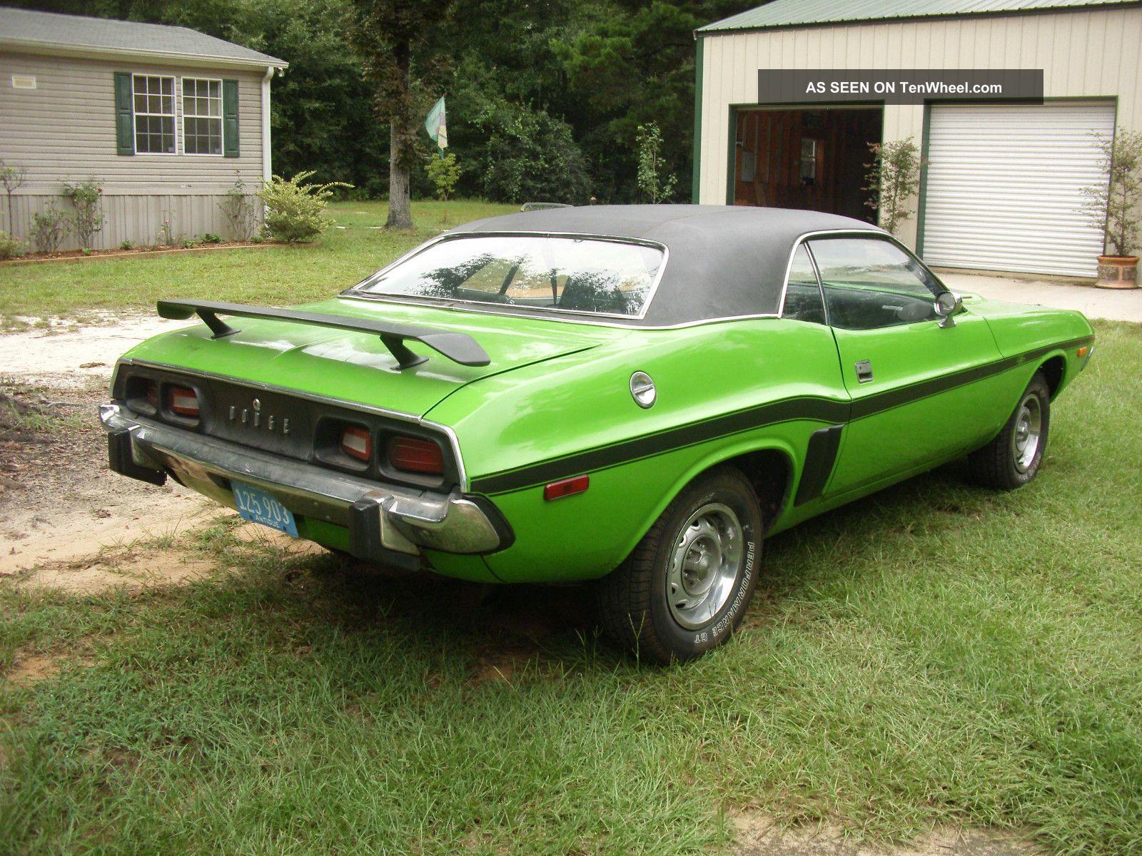 1973 Dodge Challenger Rallye Car Insurance Info 73 Fuse Box Hd Photo