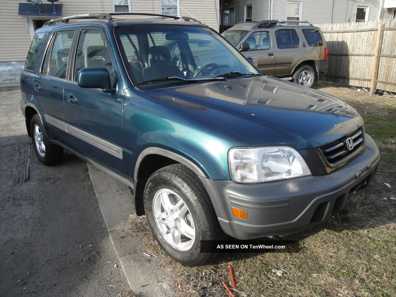 1998 Honda Cr - V Ex Sport Utility 4 - Door 2.  0l Five Speed Manual CR-V photo