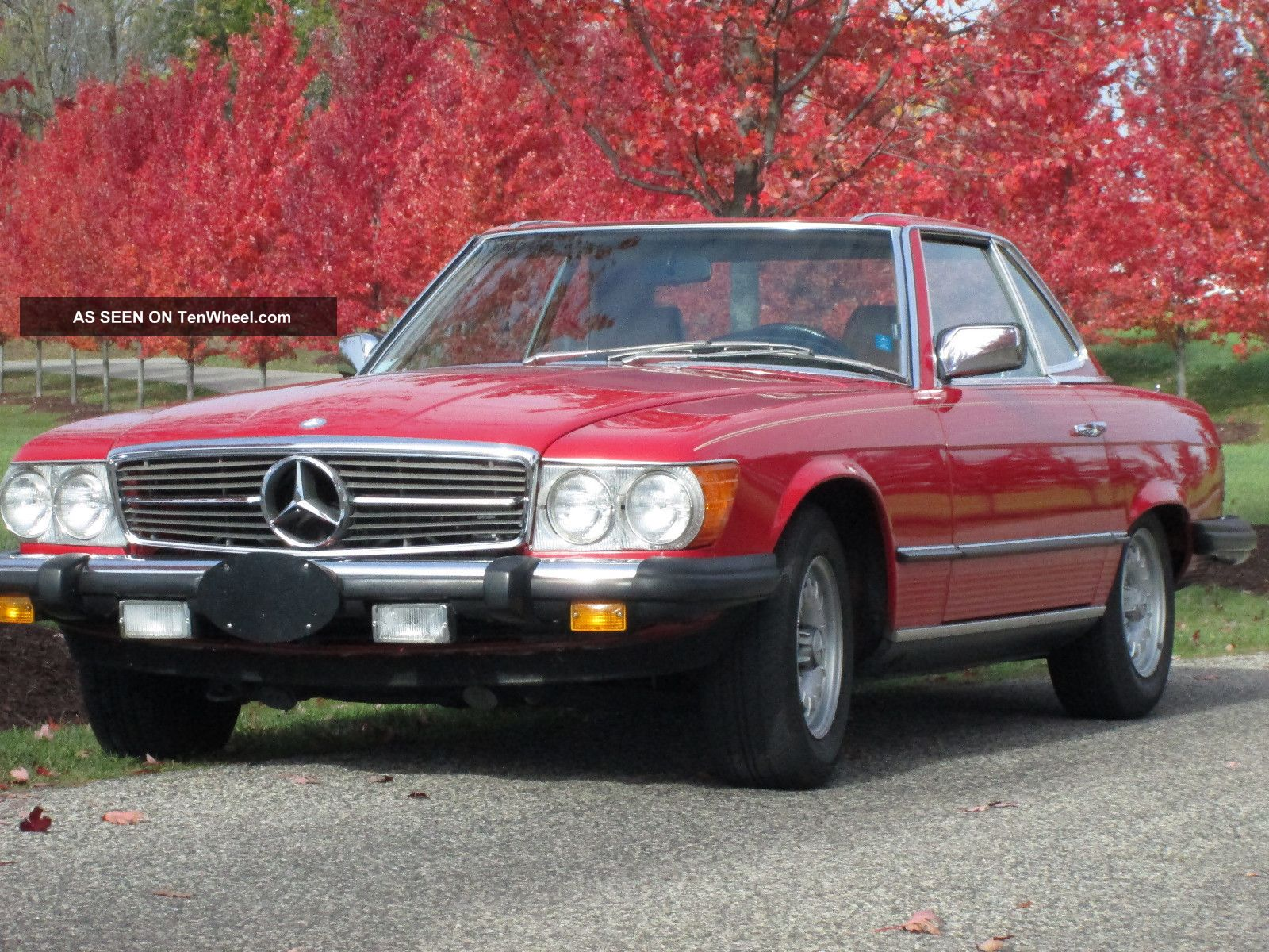 1985 mercedes benz 380sl red immaculate spotless for 1985 mercedes benz