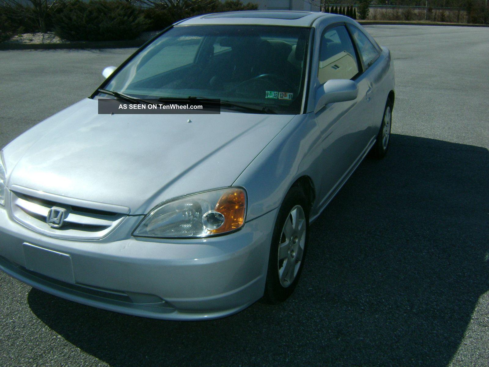 2001 honda civic ex coupe 2 door 1 7l for 2001 honda civic window trim