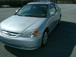 2001 Honda Civic Ex Coupe 2 - Door 1.  7l photo