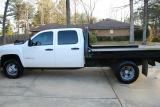 2008 Chevrolet Silverado 3500 Hd Lt Crew Cab Pickup 4 - Door 6.  6l photo