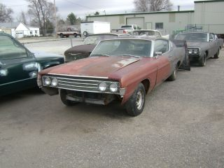 1969 Ford Torino Gt Fastback Org.  351 2 Project Cars 289 4v 1972 429 V8 photo