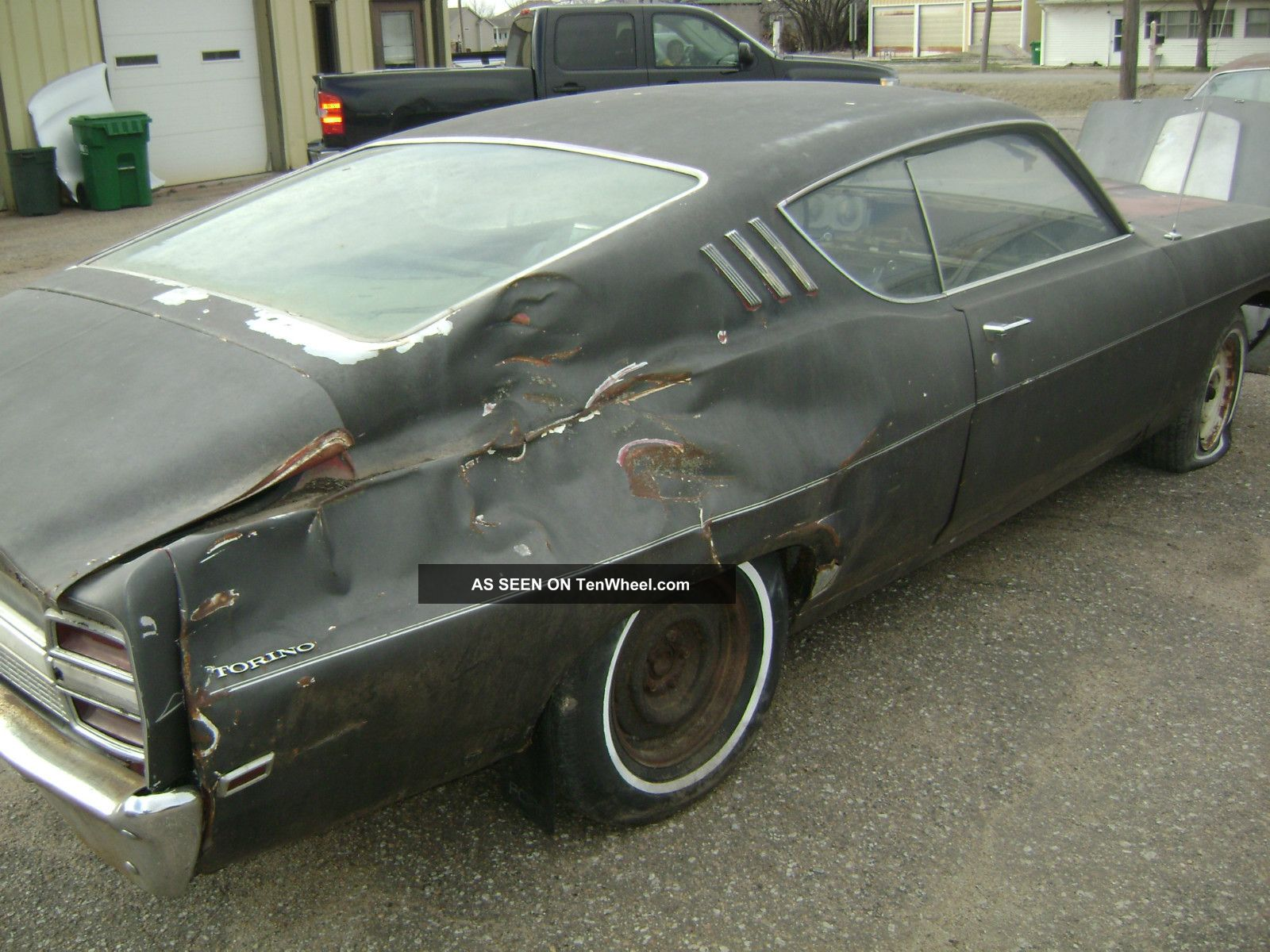 1969 Ford Torino Gt Fastback Org  351 2 Project Cars 289 4v