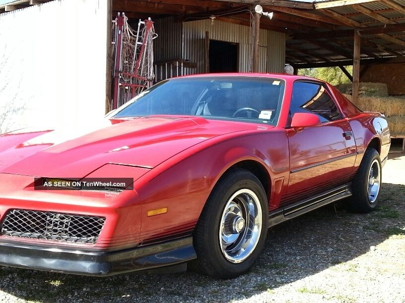 1984 pontiac firebird trans am coupe 2 door 5 0l tenwheel