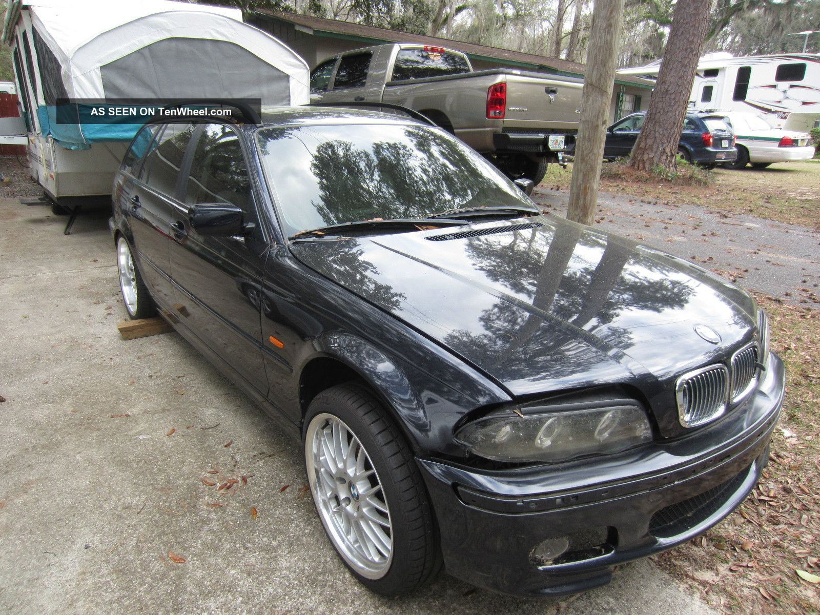 2000 Bmw 323it Wagon E46 M3 Suspension Project No Motor Or Transmission 3-Series photo