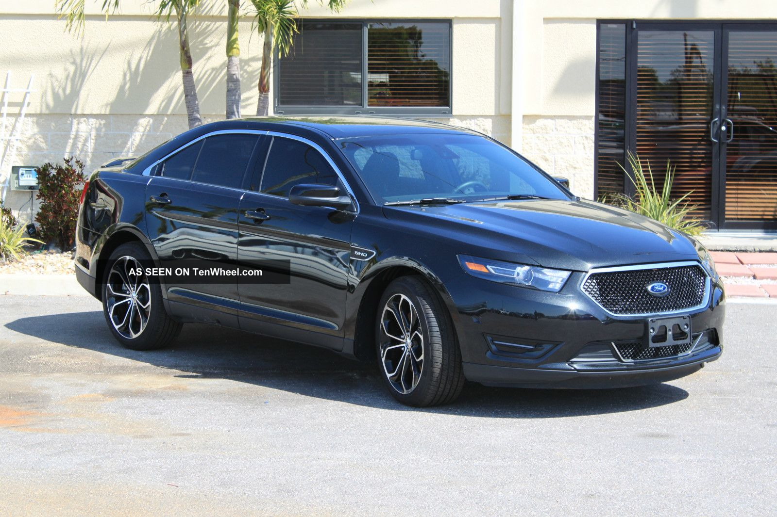 2013 ford taurus sho florida rebuildable title does not run its all. Black Bedroom Furniture Sets. Home Design Ideas