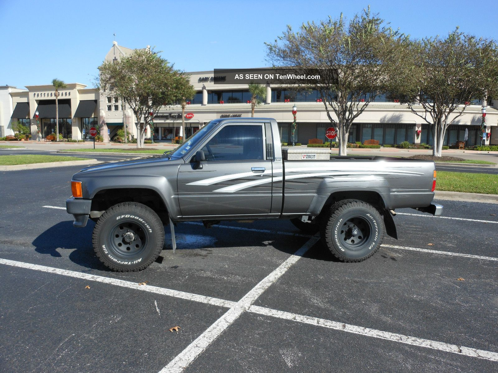 Toyota Tacoma X Pickup Lgw on Toyota 22re Engine Specs