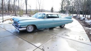 1959 Cadillac,  Series 62 4 Door Flat Top photo