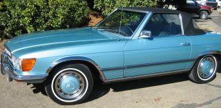 1972 Mercedes Coupe,  350sl,  V8,  Convertible,  Incredibly Rare photo
