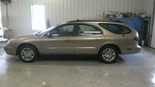 2002 Mercury Sable Ls Premium Wagon 4 - Door 3.  0l photo