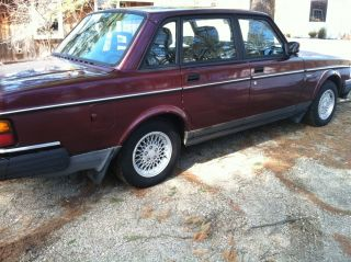 1993 Volvo 240 Classic Limited Edition 782 Of 1600 - Only 1 With Black Leather? photo