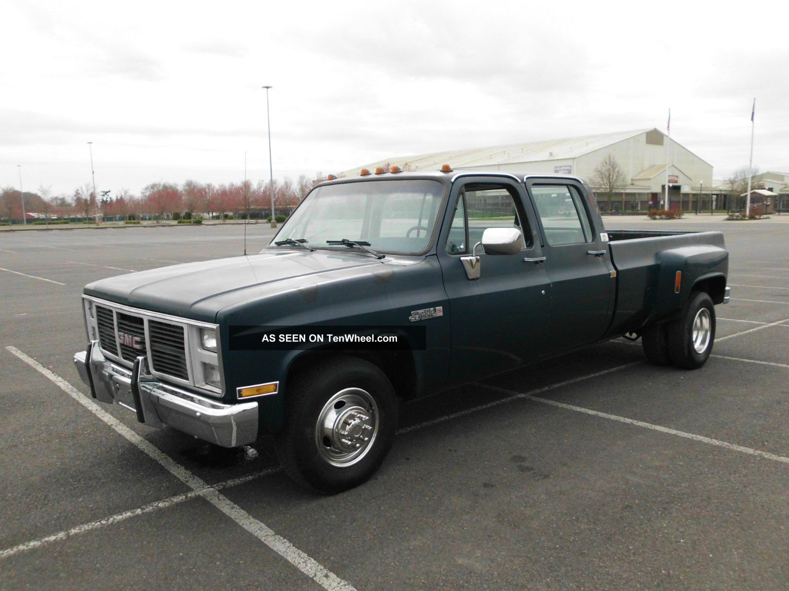 - - - 1988 Chevrolet 3500 Crew Cab Dually 454 3+3 R35 - - - - - Silverado Crewcab - - C/K Pickup 3500 photo