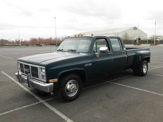 - - - 1988 Chevrolet 3500 Crew Cab Dually 454 3+3 R35 - - - - - Silverado Crewcab - - photo