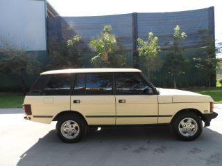 1995 Range Rover 4x4 photo