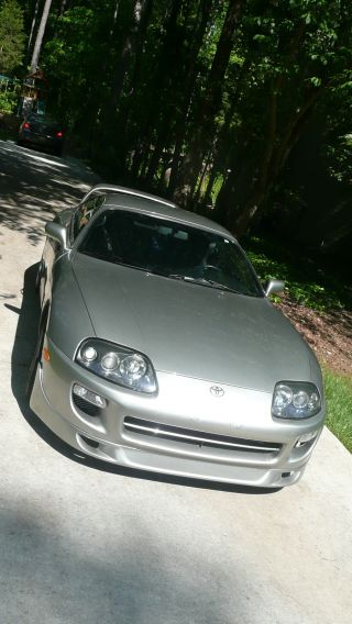 1998 Twin Turbo Toyota Supra - Quick Silver photo