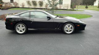 1999 Ferrari 550 Maranello Coupe 2 - Door 5.  5l photo