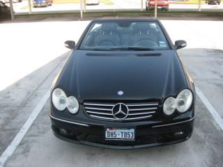 2004 Mercedes Benz Clk 500 Convertible photo