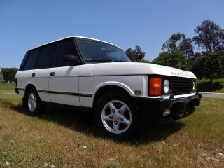 1995 Land Rover Range Rover County Classic Sport Utility 4 - Door 3.  9l photo