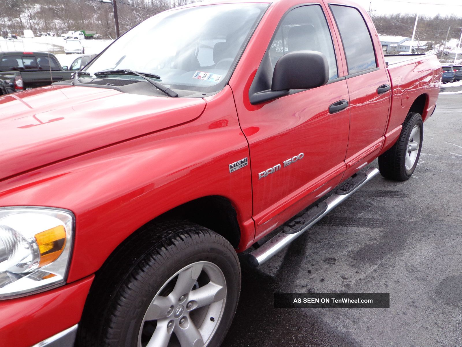 2007 dodge ram 1500 slt hemi 5 7l v8 4x4 tonneau cover. Black Bedroom Furniture Sets. Home Design Ideas