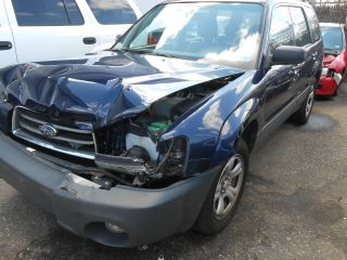 2005 Subaru Forester 25x Repairable,  Wrecked Clear Title, photo