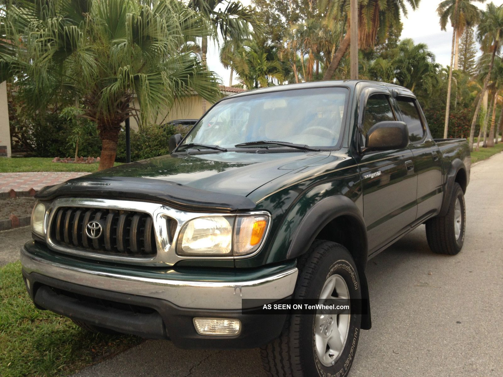 & 2002 Toyota Tacoma Extended 4 Cylinder 4 Doors