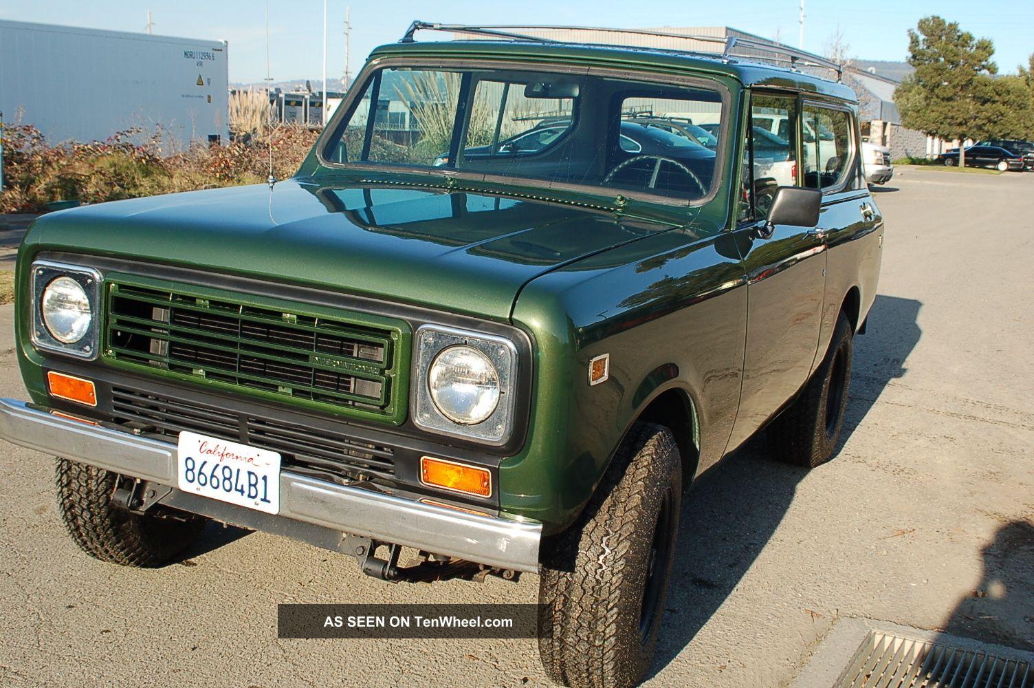 1979 International Scout Ii 4x4 Diesel Wire Diagram Harvester Ll