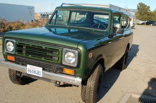 1979 International Scout Ii 4x4 Diesel photo