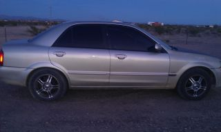 2002 Mazda Protege Dx Sedan 4 - Door 2.  0l photo