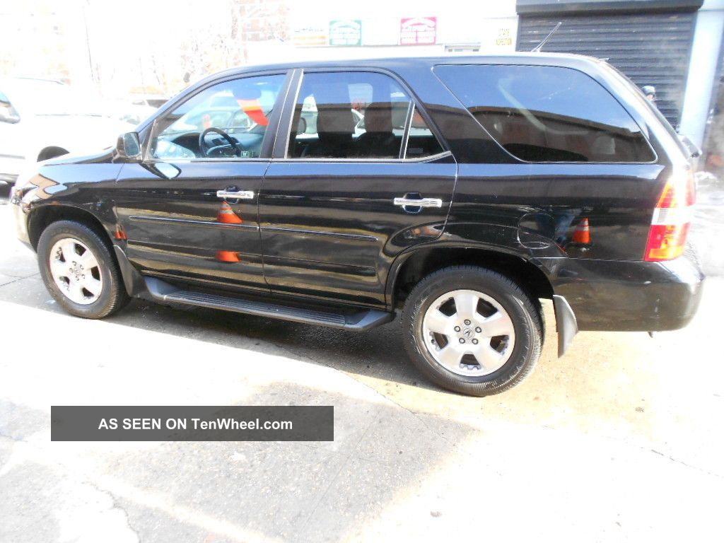 Acura Mdx All Pwr Rd Row Black Reliable No Rev Lgw