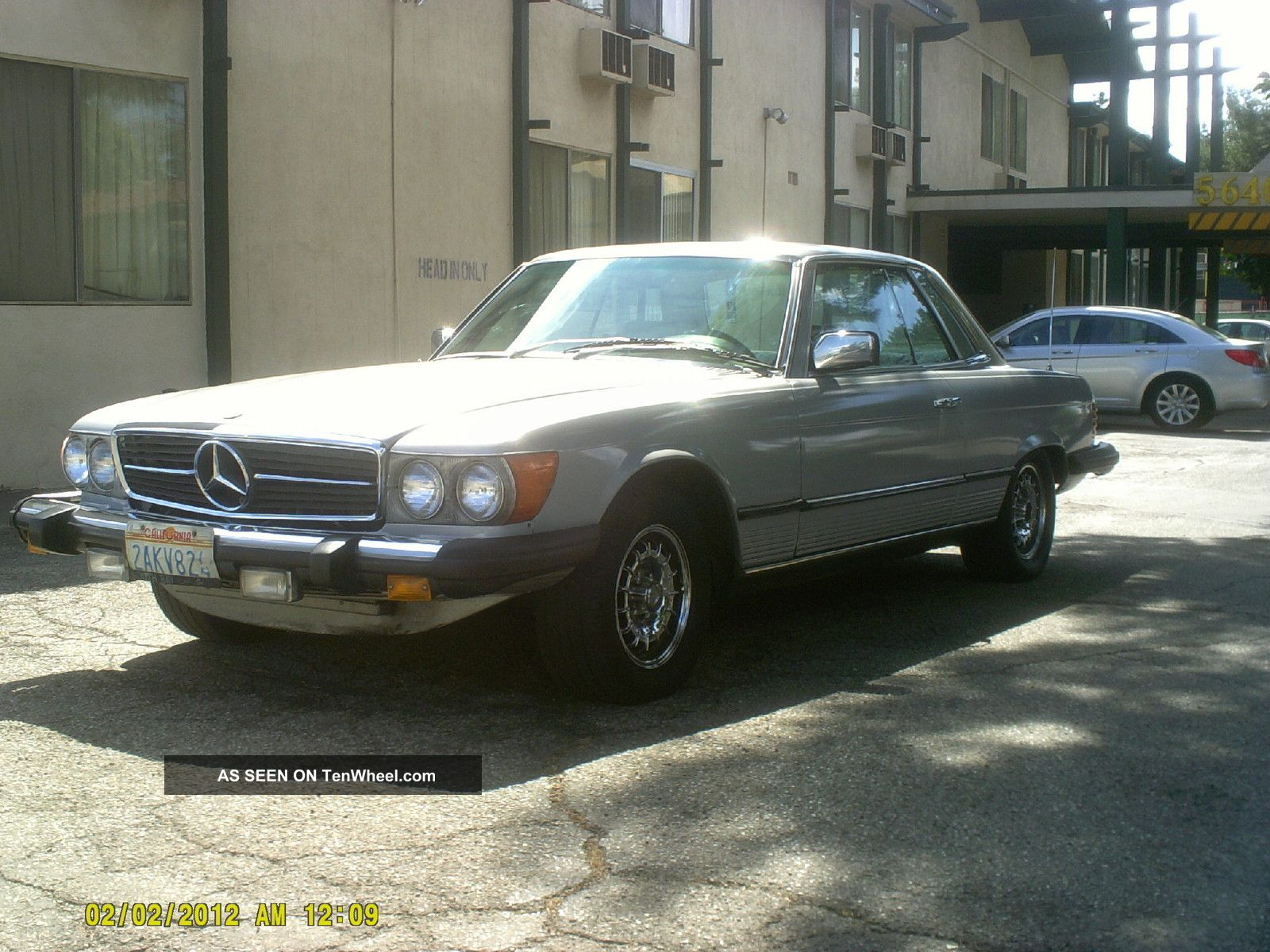 1980 mercedes benz 450 slc for Mercedes benz 1980