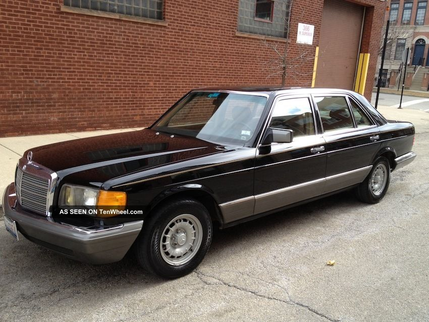 Mercedes 500 sel 1985 for 1985 mercedes benz 500sel