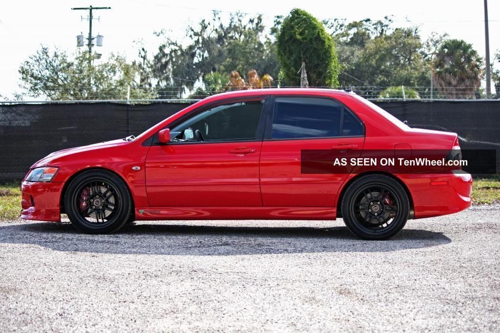 2005 Mitsubishi Lancer Evolution 8 Gsr Red 45k Ets Buschur