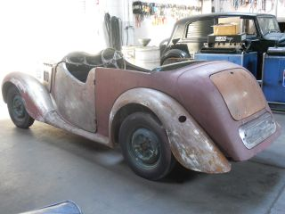 1950 Mg Y Tourer (mg Yt) photo