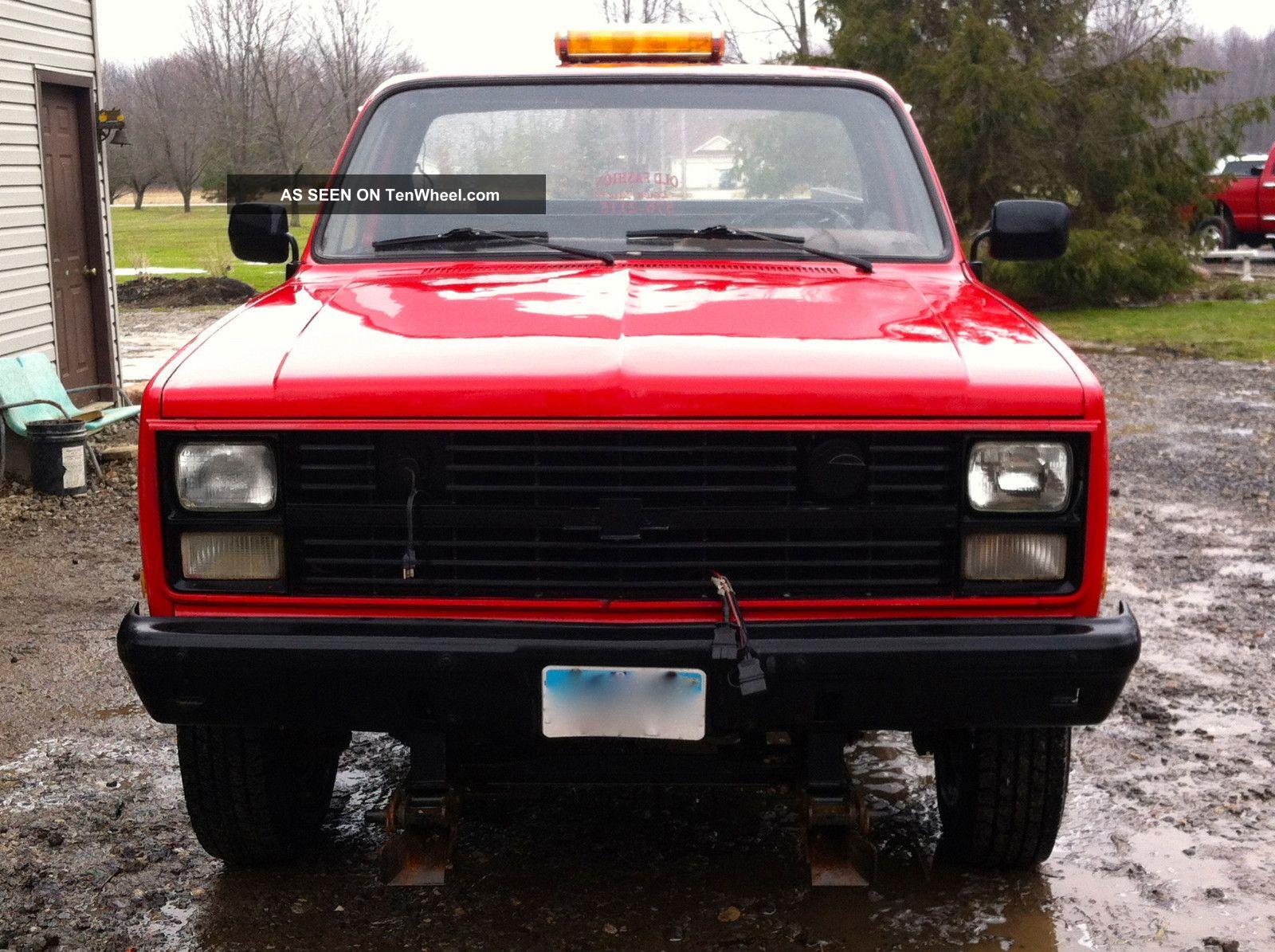 1986 Chevy G31 1008 Ex - Military Truck