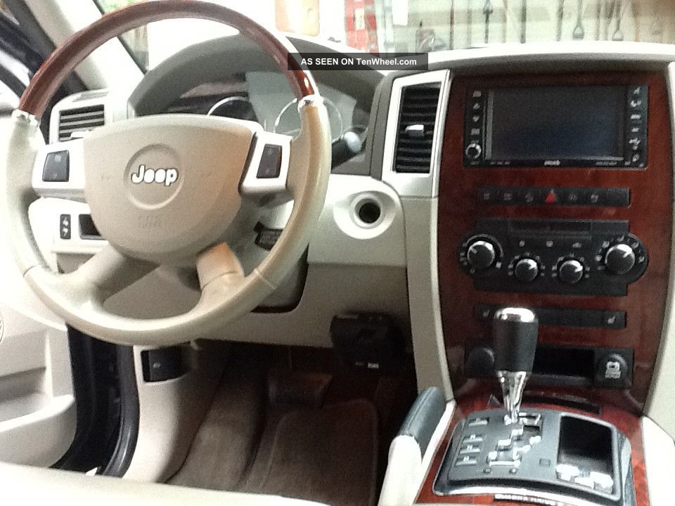 Ford Expedition Eddie Bauer >> 2008 Jeep Grand Cherokee Overland Sport Utility 4 - Door 5 ...