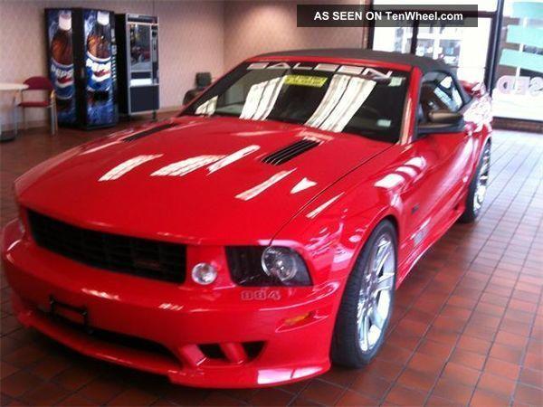 2006 Ford Mustang Saleen Convertible 2 - Door 4.  6l Mustang photo