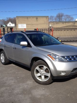 2005 Nissan Murano Sl Sport Utility 4 - Door 3.  5l photo